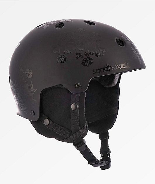 Sandbox Legend Black Floral Snowboard Helmet