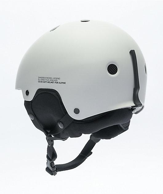 Sandbox Legend White Snowboard Helmet