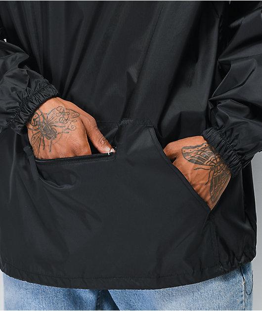 Santa Cruz Check OGSC chaqueta anorak negra