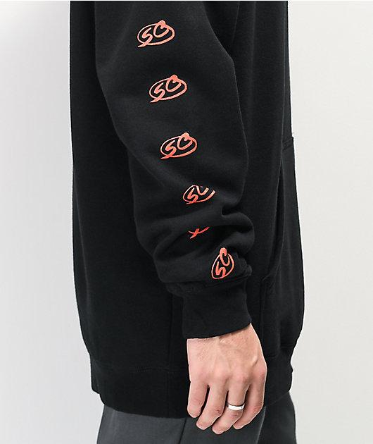 Santa Cruz Checker Pro Series sudadera con capucha negra