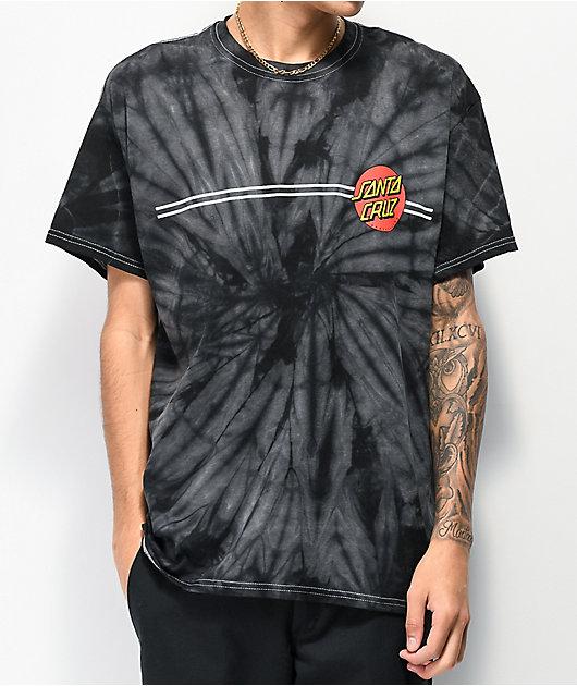 Santa Cruz Classic Dot Spider Black T-Shirt