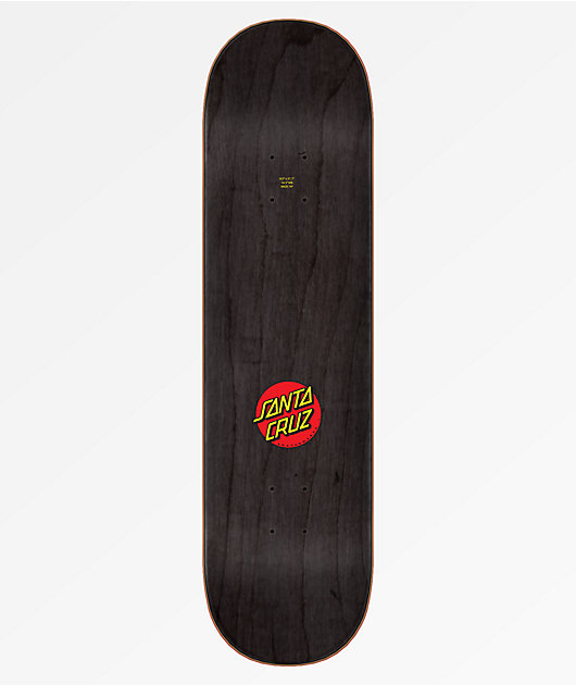 Santa Cruz Classic Dot Wide Tip 8.0 Skateboard Deck