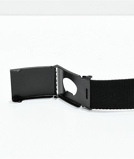Santa Cruz Classic Dot cinturón tejido negro