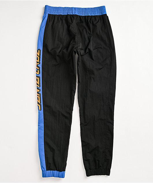 Santa Cruz Classic Strip Black Track Pants