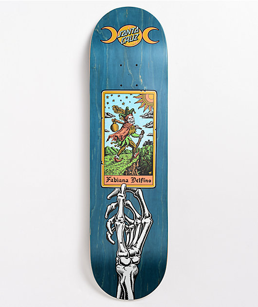 Santa Cruz Delfino Tarot Powerply 8.25