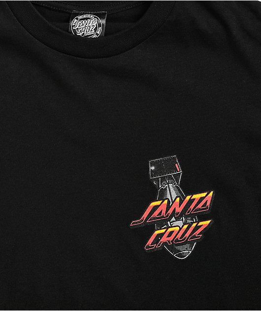 Santa Cruz Doom Dot Black T-Shirt