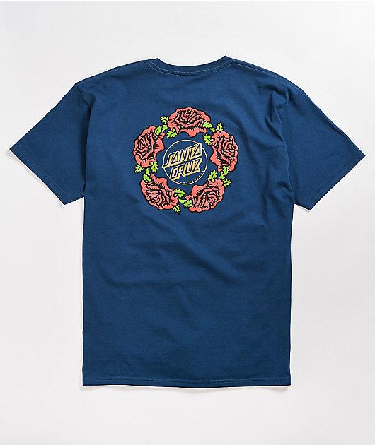 Santa Cruz Dressen Rose Ring Blue T-Shirt