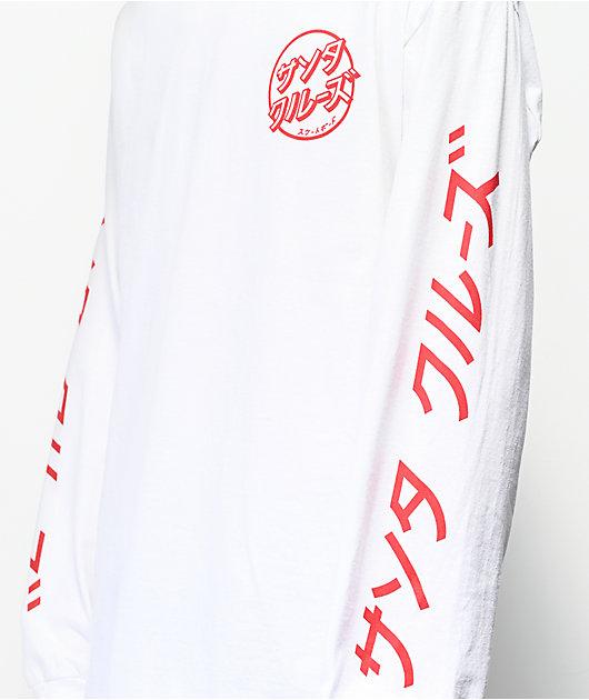 Santa Cruz Hando White Long Sleeve T-Shirt