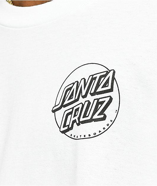 Santa Cruz Hissing Hand camiseta blanca