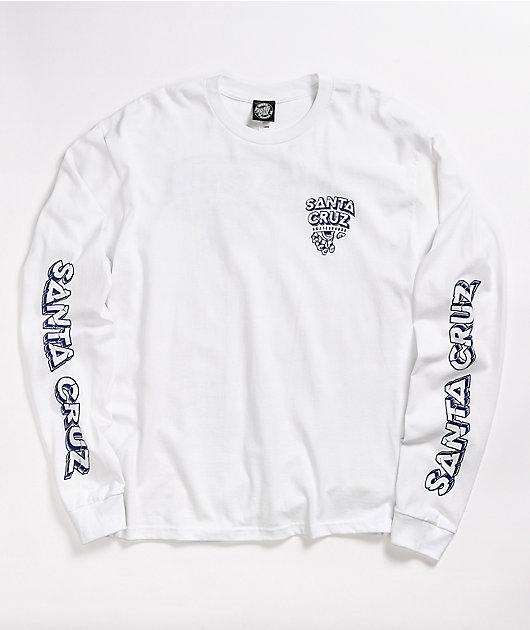 Santa Cruz Inherit White Long Sleeve T-Shirt