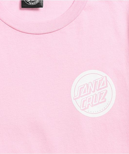 Santa Cruz Iridescent Hand Pink & Blue Dip Dye T-Shirt
