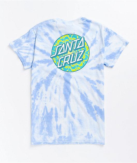 Santa Cruz Kaleidot Twist Blue T-Shirt