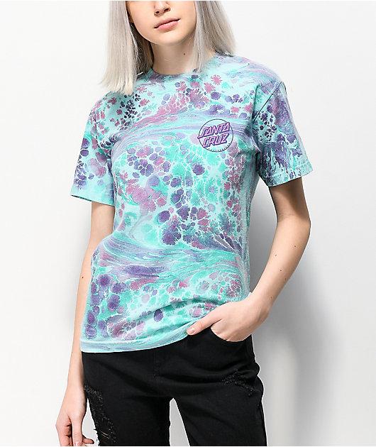 Santa Cruz Marble Opus Fill Mint T-Shirt