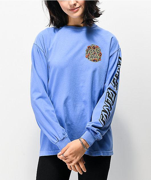 Santa Cruz Missing Dot Persimmon camiseta de manga larga