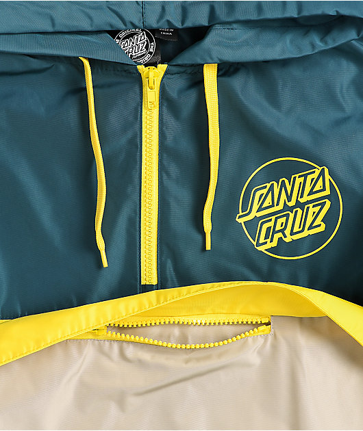 Santa Cruz Opus Dot Colorblock Anorak Jacket