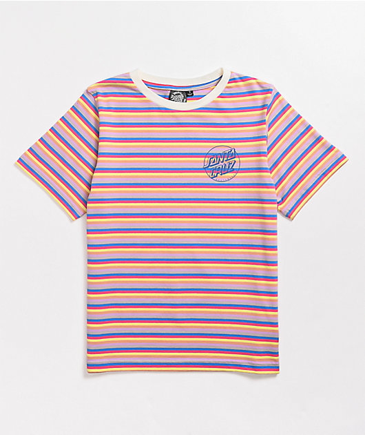 Santa Cruz Opus Dot Stripe Boyfriend T-Shirt