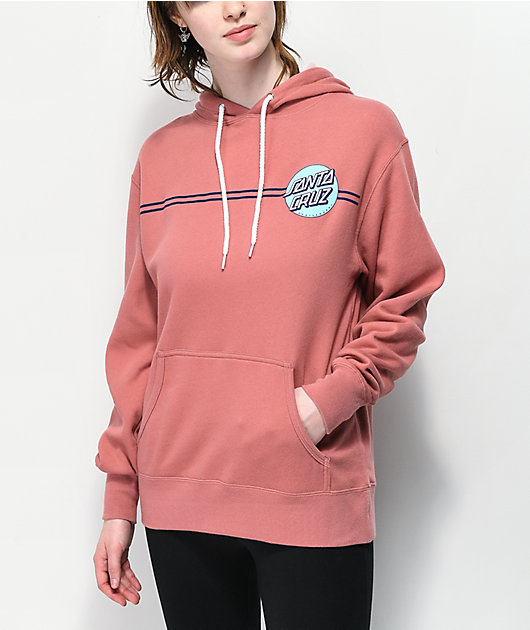 Santa Cruz Other Dot Dusty Rose Hoodie