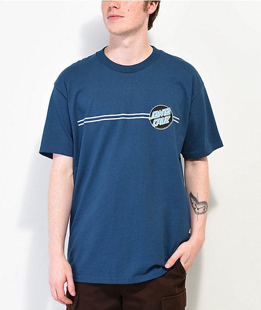 Santa Cruz Other Dot Harbor Blue T-Shirt