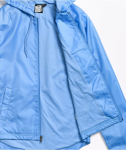 Santa Cruz Other Dot Light Blue Windbreaker Jacket