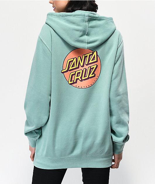 Santa Cruz Other Dot Mint Hoodie