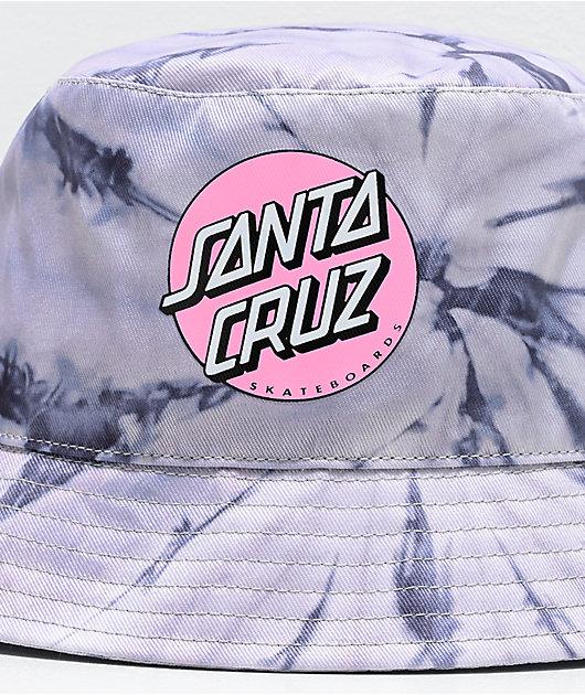 Santa Cruz Other Dot Silver Tie Dye Bucket Hat