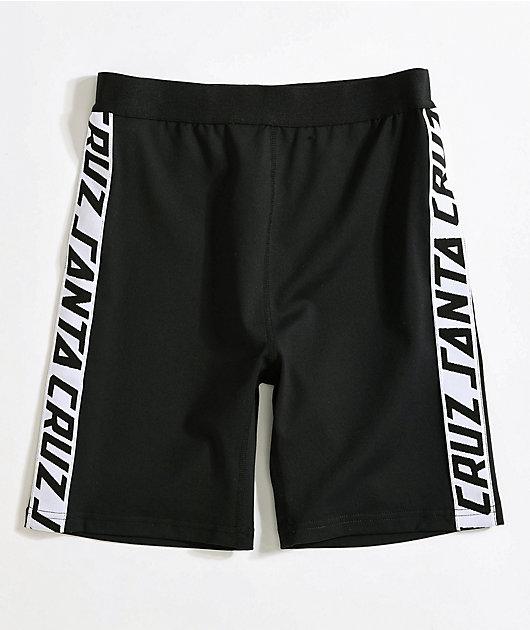 Santa Cruz SC Strip Black Bike Shorts