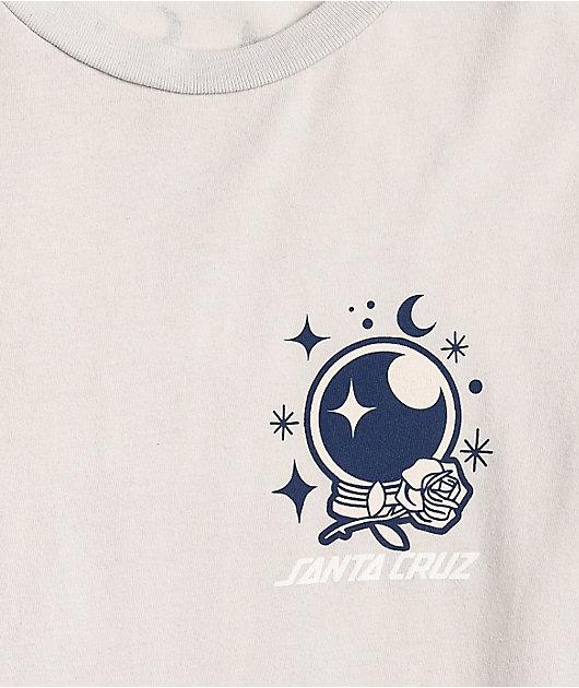 Santa Cruz Scorpio Light Grey Long Sleeve T-Shirt