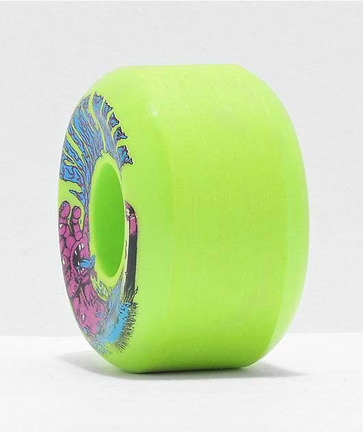 Santa Cruz Slime Balls Grave Hand 58mm 99a Skateboard Wheels