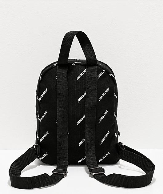 Santa Cruz Strip Storm Black Mini Backpack