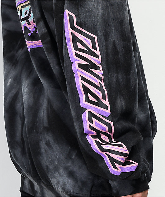 Santa Cruz Throwdown Dot Spider Black Hoodie