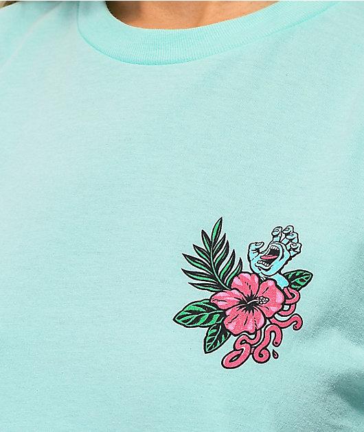 Santa Cruz Vacation Dot Mint T-Shirt