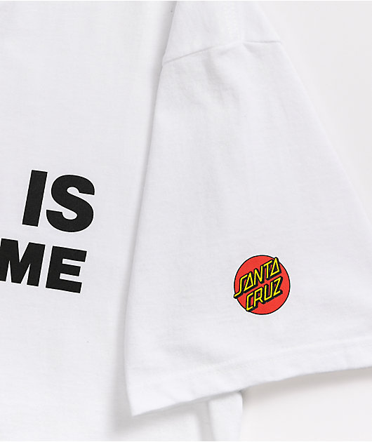 Santa Cruz Voting Is Not A Crime White T-Shirt
