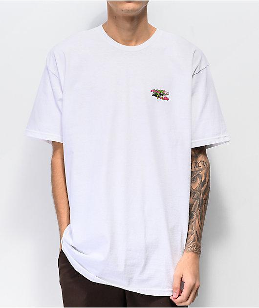 Santa Cruz Wave Slasher White T-Shirt