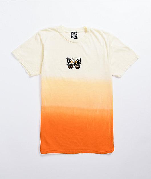 Santa Cruz Winged Orange Ombre T-Shirt