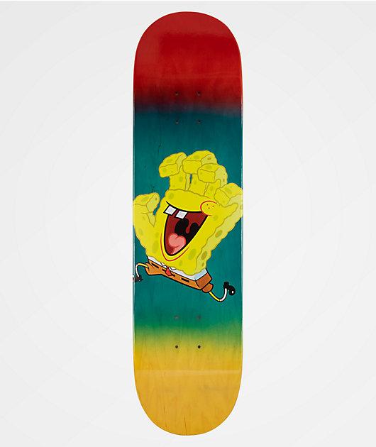 Santa Cruz x SpongeBob SquarePants Spongehand 8.12