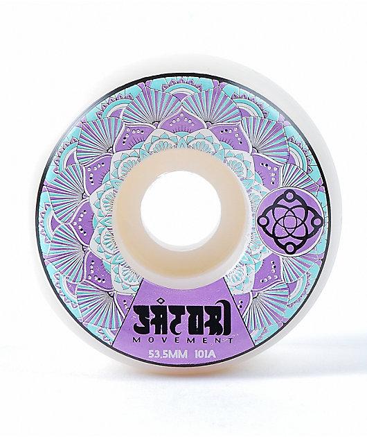Satori Mandala 53mm 101a Purple Skateboard Wheels