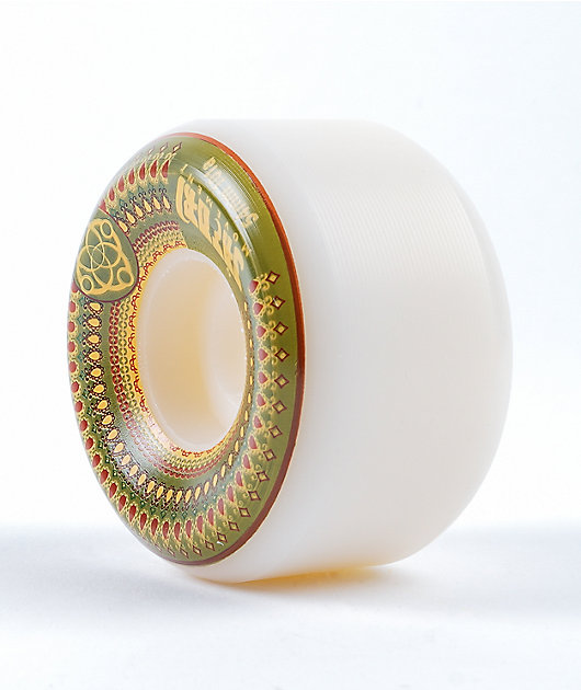 Satori Mandala 54mm 101a Green Skateboard Wheels