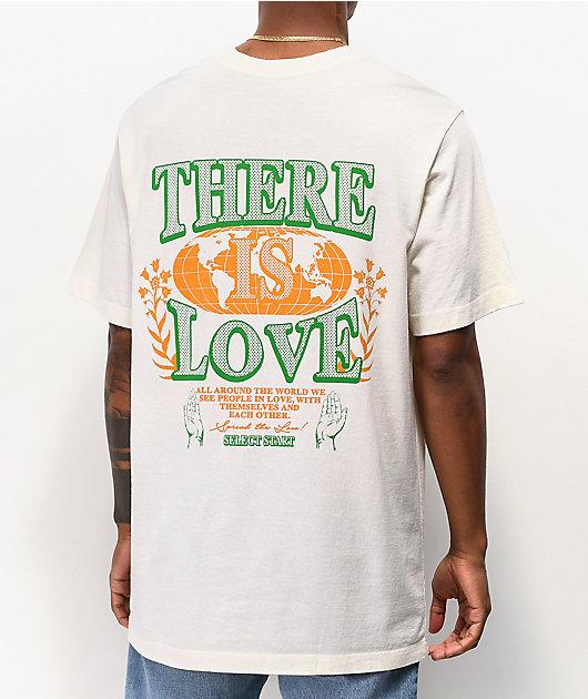 Select Start Love White T-Shirt
