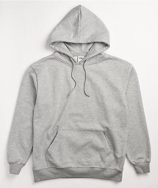 Shaka Wear Heavyweight Fleece Heather Grey Hoodie