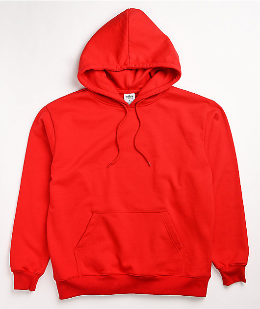 Shaka Wear Heavyweight Red Hoodie