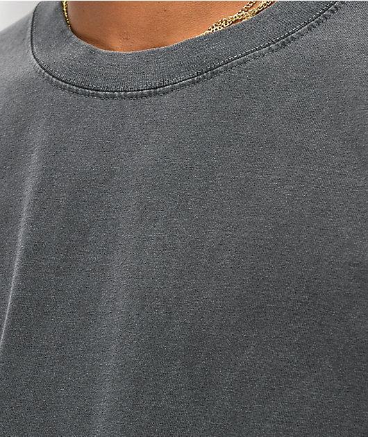 Shaka Wear Max Heavy Weight camiseta con lavado negro