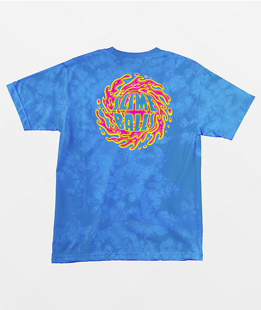 Sime Balls Logo Blue Wash T-Shirt