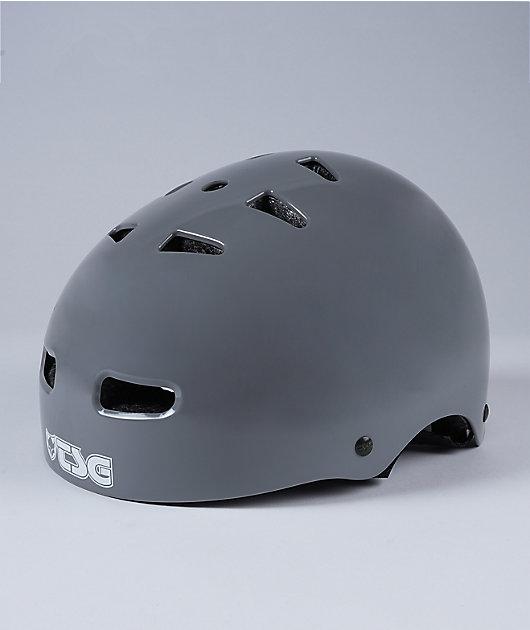 Skate-BMX Injected Grey Multi-Sport Helmet