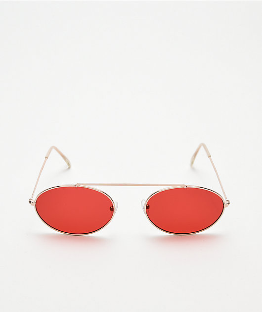 Slam Jam gafas de sol rojas