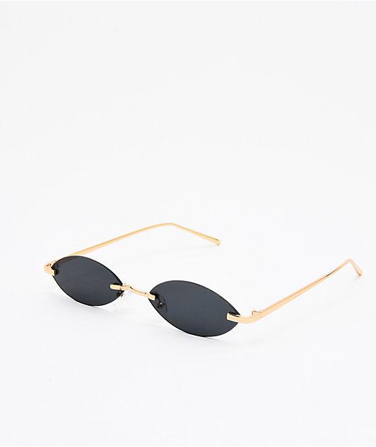 Sledge Hammer Black Mini Frameless Sunglasses