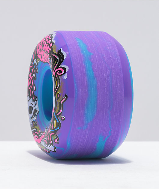 Slime Balls Brains Speed Balls 54mm 99a Blue & Purple Skateboard Wheels