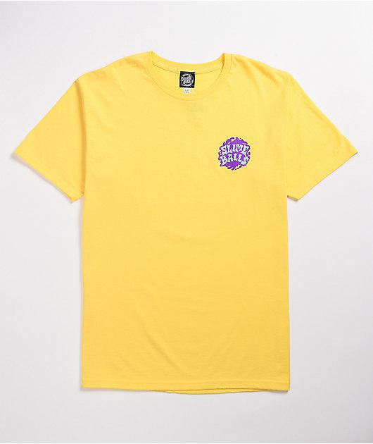 Slime Balls Slime Time Yellow T-Shirt