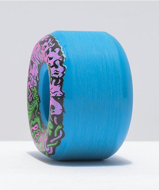 Slime Balls Vomit Mini II 53mm 99a Blue Skateboard Wheels
