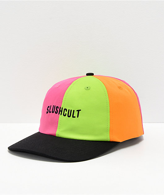 Slushcult Holy Trinity Pinwheel Strapback Hat
