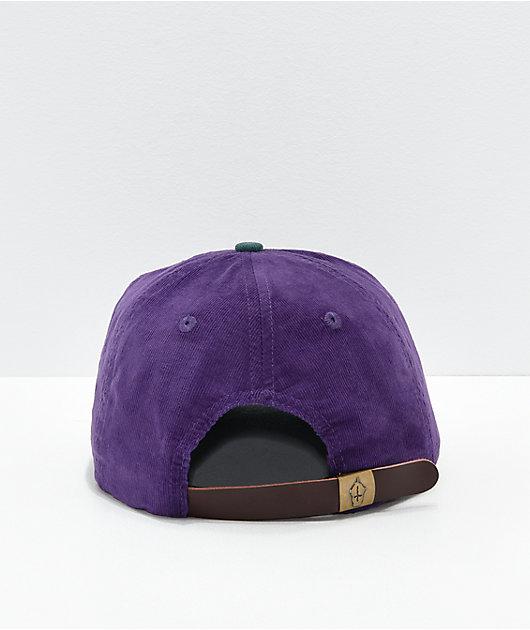 Slushcult Two Tone Corduroy Strapback Hat